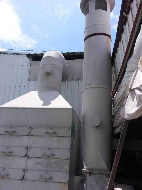 竞博jbo官网登陆某造船公司有机废气+粉尘+厨房油烟处理