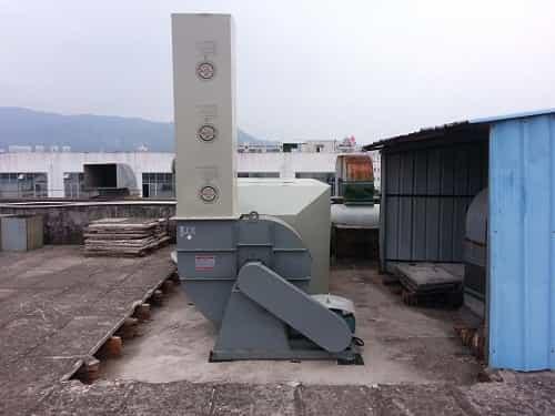 竞博jbo官网登陆某家具公司 40000m3/h有机废气处理