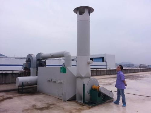 竞博jbo官网登陆某公司注塑焊接磨床有机废气及金属粉尘治理